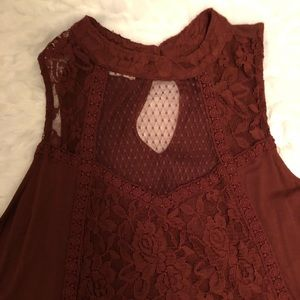 Maurice sexy lace top